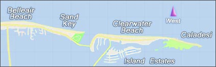 Beach Area Map